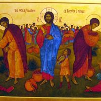 17th Sunday of Ordinary Time:  THE MIRACLE OF THE LOAVES AND FISH. LITTLE THINGS