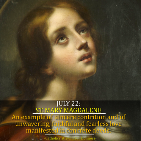 July 22 - St. Mary magdalene 2
