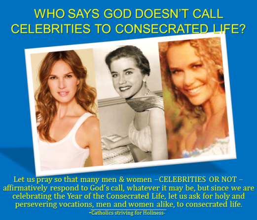 Actresses who gave it all up to God