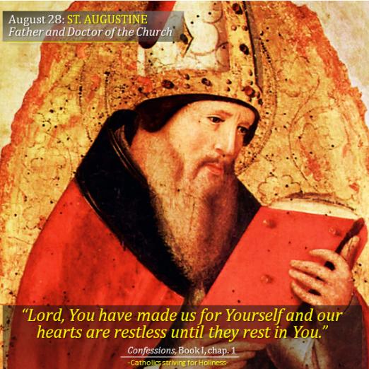 August 28. St. Augustine