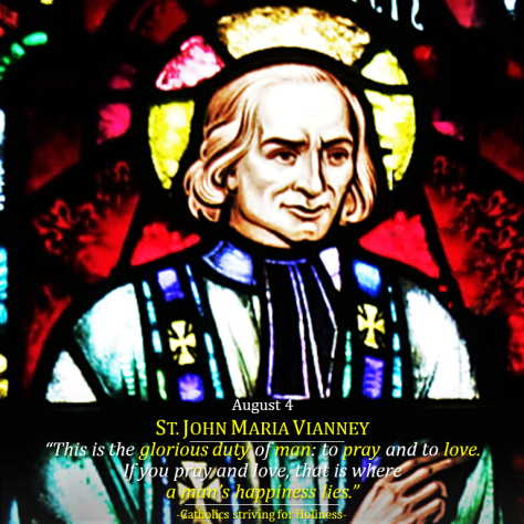 AUGUST 5-St. John Maria Vianney. Duty of Man