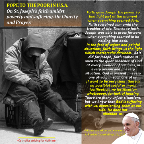 PopeinUS - With the poor in DC