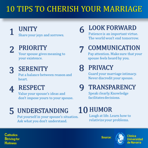 10 IDEAS TO ENJOY YOUR MARRIAGE