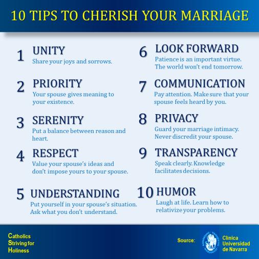 10 IDEAS TO ENJOY YOUR MARRIAGE