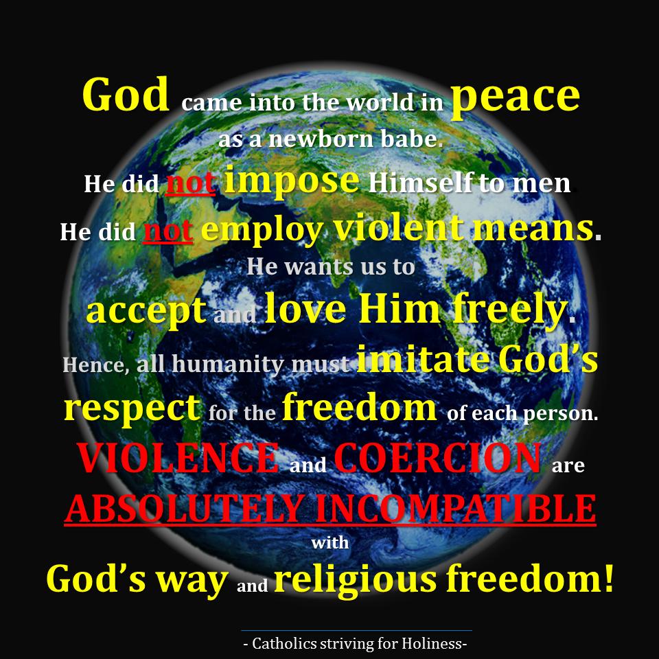 Respect for religious freedom