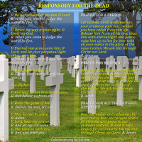 RESPONSORY FOR THE DEAD  WITH PRAYERS FOR PERSONS, PARENTS AND ALL FAITHFUL DEPARTED