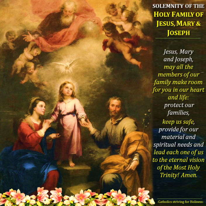 Image result for images of the most holy family