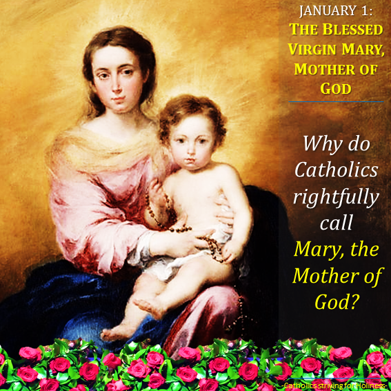 Jan. 01 - Mary, the Mother of God