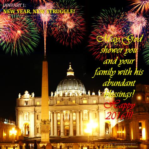 JANUARY 01 - Happy New Year