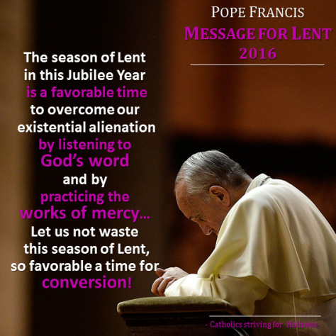 Pope Francis. Lenten 2016 Message.png