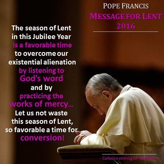 Pope Francis. Lenten 2016 Message.png