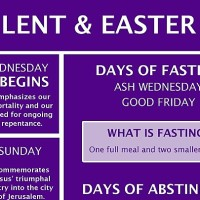 LENT:  A JOURNEY TOWARDS EASTER THROUGH THE CROSS OF CHRIST.