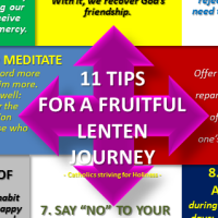 11 TIPS FOR A FRUITFUL LENTEN JOURNEY.