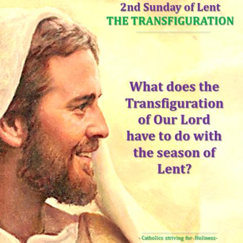 Lent- 2nd SUNDAY. Transfiguration