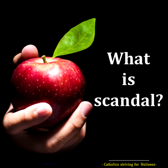 Scandal. What is