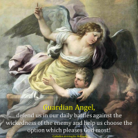 Tuesday Devotion:  OUR GUARDIAN ANGEL.