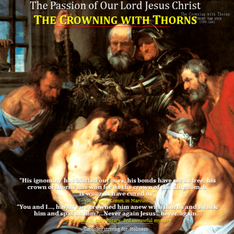 Passion of Our Lord. Crowning with Thorns