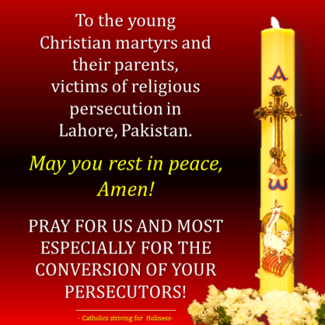 Pray for those who persecute you