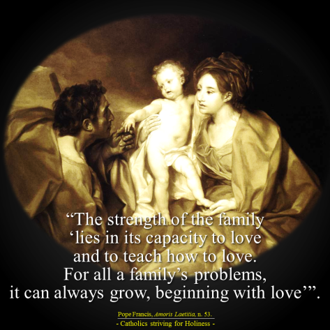 Amoris laetitia. Secret of love