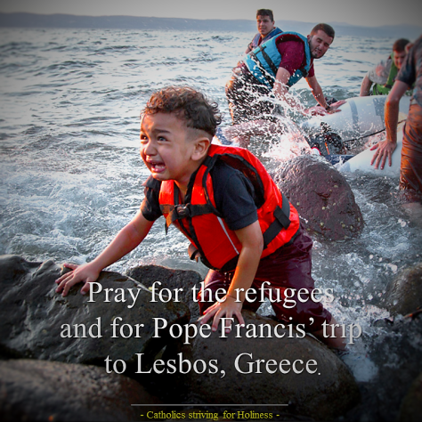 Pope's trip to Lesbos
