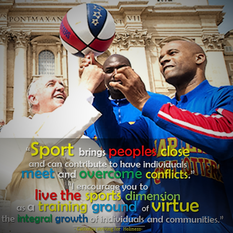 Sports as training ground for virtues