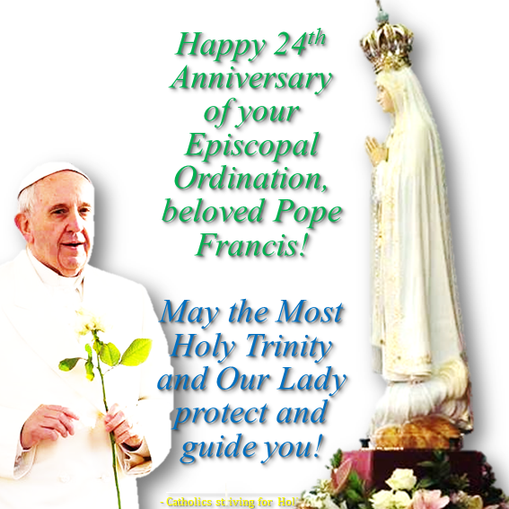 May 20 2016 pope francis 24th episcopal ordination may 20 2016 pope francis 24th episcopal ordination anniversary catholics striving for holiness m4hsunfo