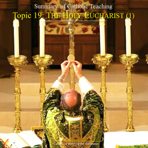 the eucharist summary Letter dominicae cenae of the supreme pontiff john paul ii to all the bishops of the church on the mystery and worship of the eucharist  my venerable and dear brothers.
