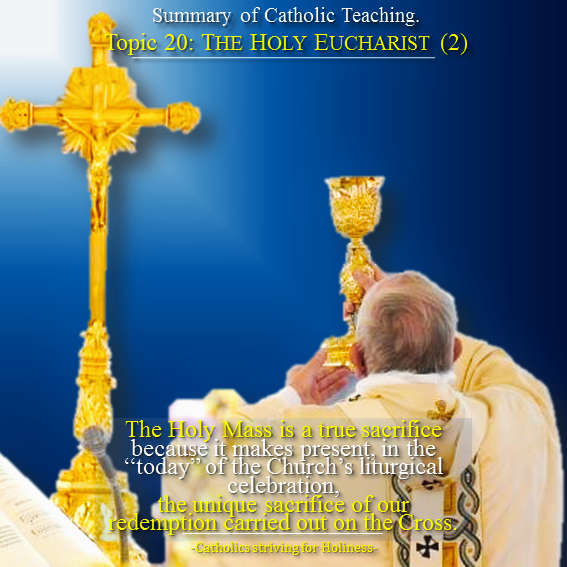 20. Holy Eucharist 2