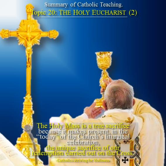 20. Holy Eucharist 2