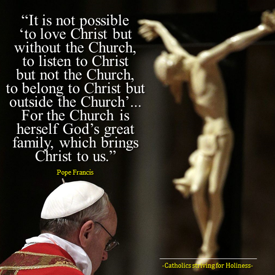 Christ and Church are inseparable