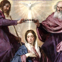 WANT TO GROW FASTER IN YOUR LOVE  FOR THE MOST HOLY TRINITY?  PREPARE FOR THE SOLEMNITY WITH THE HELP OF OUR LADY!