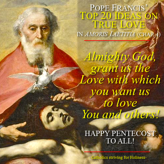 POPE FRANCIS' TOP 20 IDEAS ON TRUE LOVE