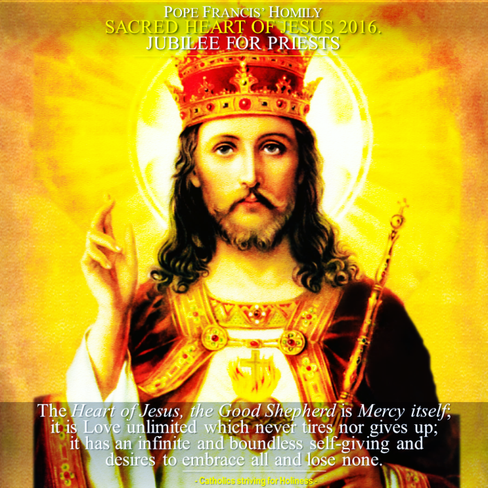 Pope Francis. Sacred Heart 2016. Jubilee for priests.png