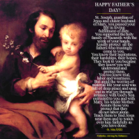 PRAYER TO ST. JOSEPH FOR FATHERS.