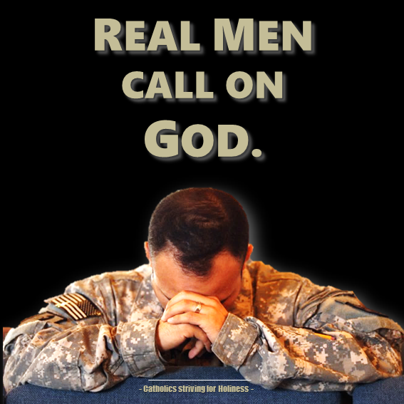 Real men call on God. Psalm 28