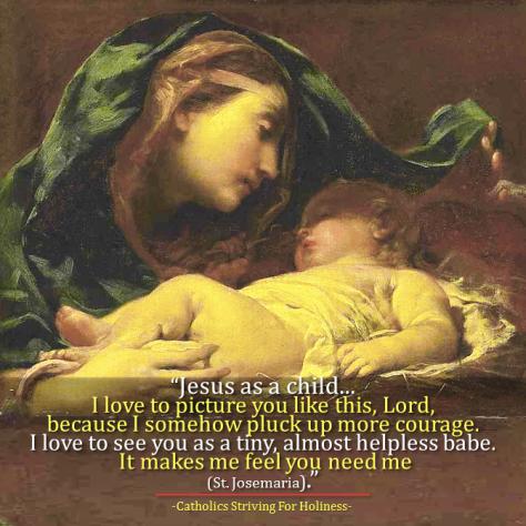 Jesus as Baby