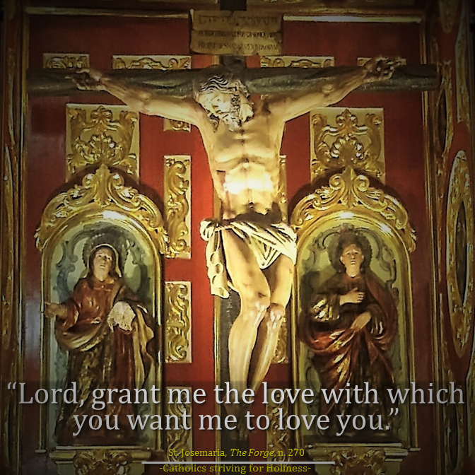 Lord, give me the love