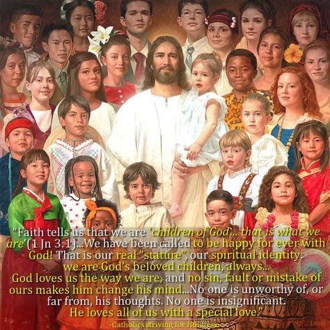 Divine filiation. We are children of God