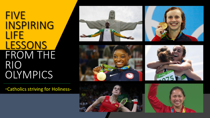 FIVE INSPIRING LIFE LESSONS FROM THE RIO 2016 OLYMPICS