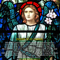 PRAYER TO ARCHANGEL ST. GABRIEL.