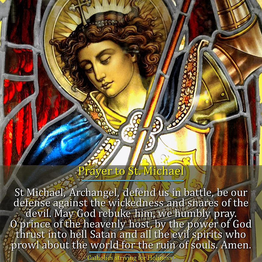 archangel michael prayer - 864×864