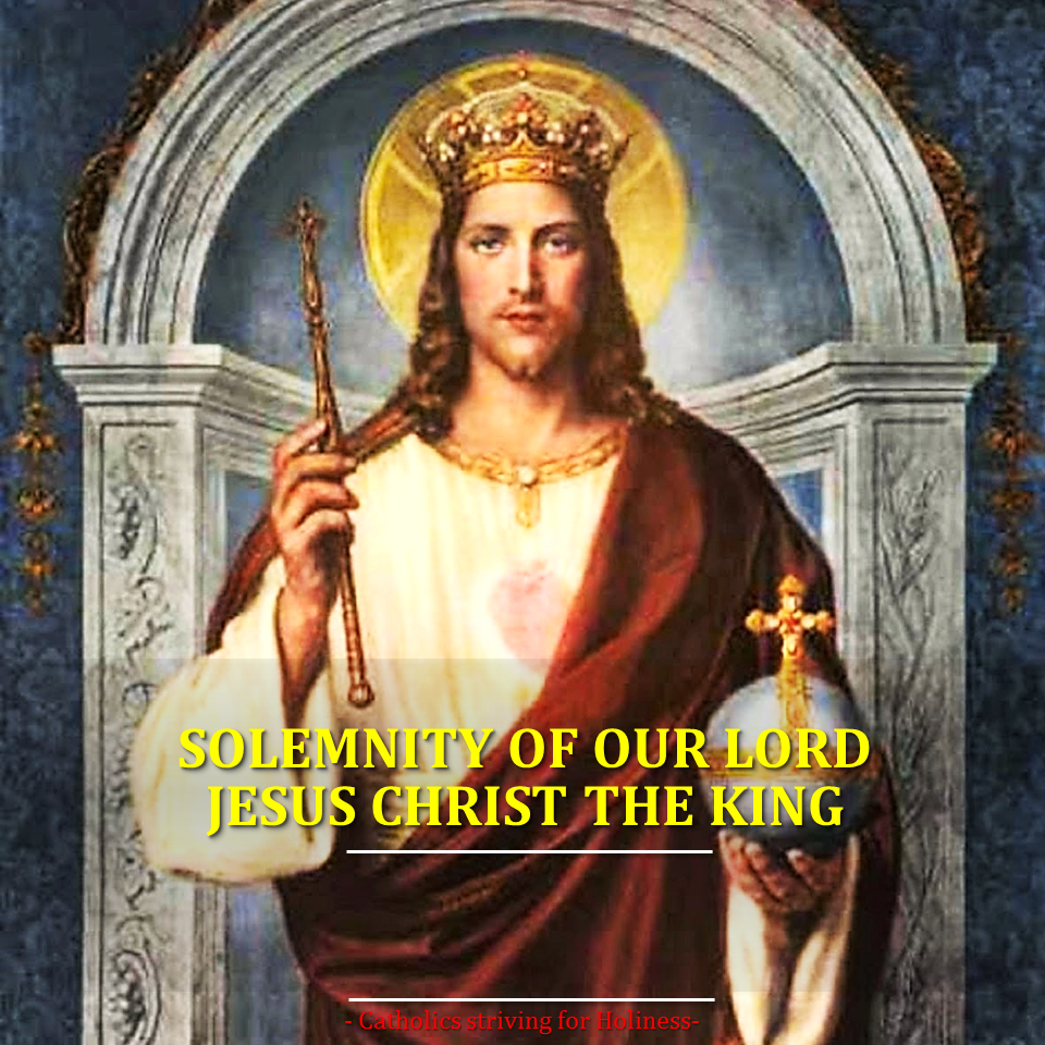let�s prepare for the solemnity of our lord jesus christ