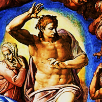 """THE LAST JUDGMENT. """"He will come again in glory to judge the living and the dead."""""""