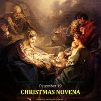 CHRISTMAS NOVENA 3 Dec. 19: God's Redeeming Incarnation.  AV summary (0:53 s) & text.