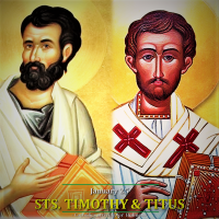 Jan. 26: Sts. Timothy and Titus, Bishops AV+ Divine Office Reading.