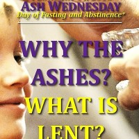 ASH WEDNESDAY  (Fasting and Abstinence*).  WHY THE IMPOSITION OF ASHES? WHAT IS LENT?
