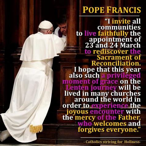 Invitation to Confession