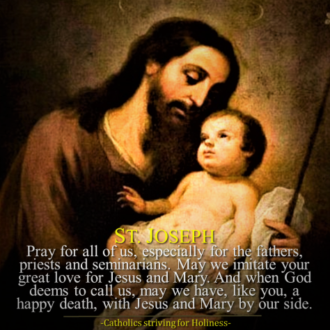 Mar. 20 - Pray for fathers and priests