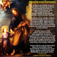 PRAYER FOR FATHERS (ST. JOHN XXIII)