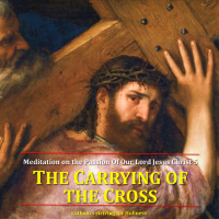 THE CARRYING OF THE CROSS. Meditation on the Passion of Our Lord Jesus Christ 5. Summary vid + full text.